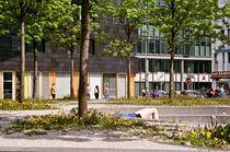 Sunbathing in Kreuzberg von Alexander Huber