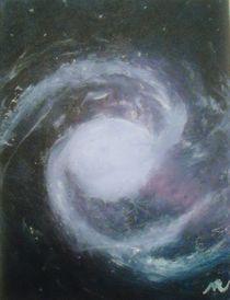 NGC 1365. Barred Spiral Galaxy with Relativistic Jet von sarasvati