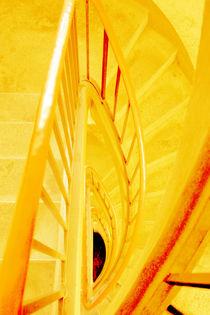 Goldene Stufen von Angelika Wiedemeyer