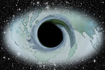 Schwarzes Loch von Angelika Wiedemeyer