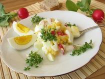 Eiersalat mit Radieschen und Kresse von Heike Rau