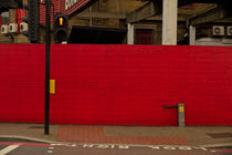 Red wall von Alexander Huber