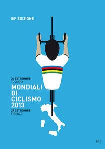 MY Mondiali di Ciclismo MINIMAL POSTER von chungkong