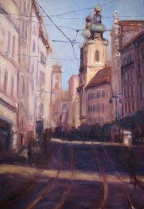 Linz Landstrasse von Ellen Fasthuber-Huemer