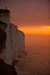 Cliff top 1 by Ross Woodhall
