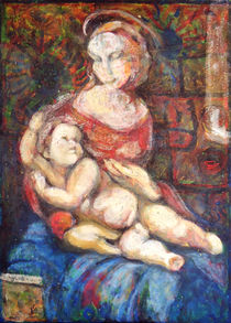 Madonna and Child by florin