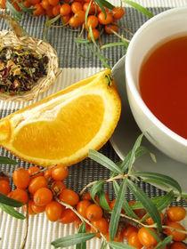 Früchtetee mit Sanddorn und Orange by Heike Rau