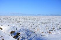 Snowy landscape von Jutta Ehrlich