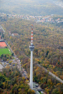 Fernsehturm Stuttgart by Matthias Hauser