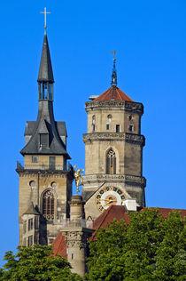 Stiftskirche Stuttgart von Matthias Hauser