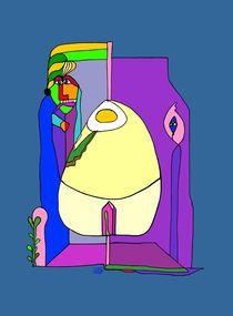 Der Typ liebt seine Eieruhr  von SUSANNE eva maria  FISCHBACH