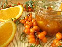 Konfitüre mit Sanddornbeeren und Orangen von Heike Rau