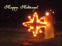 Happy Holidays Star von skyler