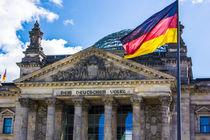 Reichstag Berlin by Sandra Harner
