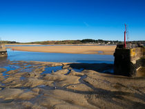 The River Camel Estuary at Low Tide von Louise Heusinkveld