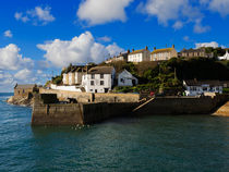 Porthleven Outer Harbour by Louise Heusinkveld