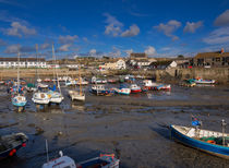 The Inner Harbour at Porthleven by Louise Heusinkveld