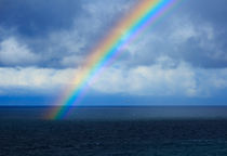 Rainbow over the Atlantic  by Louise Heusinkveld