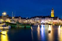Port des Le Croisic à l'heure bleue von Ralf Rosendahl