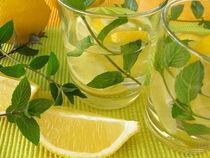Zitronenlimonade mit Pfefferminze von Heike Rau