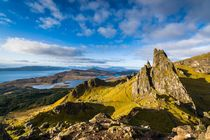 Cuillin and Sound of Rasay from the Old Man of Storr by Maciej Markiewicz
