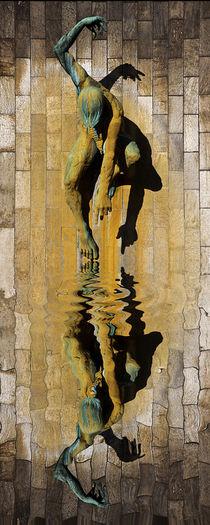 River God Tyne Reflection von David Pringle