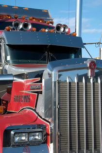 American truck 1 - amerikanischer LKW 1 von Ralf Rosendahl