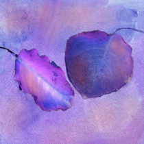 Leaf Study in Purple von Betty LaRue