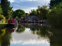 Grand Union Canal at Blisworth von Louise Heusinkveld