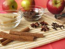 Zutaten für Bratäpfel von Heike Rau