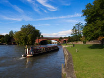 Docking on the Thames in Maidenhead by Louise Heusinkveld