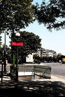 Paris Metro von Louise Heusinkveld