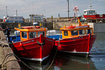 Red Boats von Louise Heusinkveld