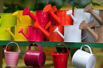 Watering Cans by Louise Heusinkveld