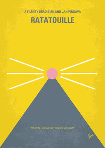 No163 My Ratatouille minimal movie poster von chungkong