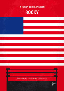 No072-my-rocky-minimal-movie-poster