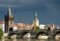 Karlsbrücke Prag Tschechische Republik von Matthias Hauser