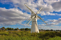 Thurne Dyke Windmill, Norfolk by Louise Heusinkveld