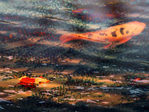 Lonely Koi Pond von Robert Ball