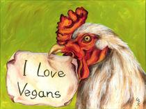 I Love Vegans by Hiroko Sakai