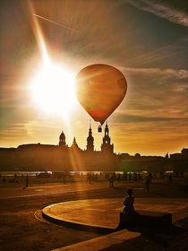 ballon over dresden. von chaunceyphotography