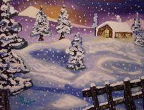 Schneefall von Rudolf Urabl