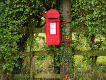 The Old Post Box von Louise Heusinkveld