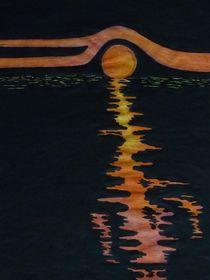 Phantasie Sonnenuntergang by klaus Gruber