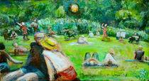 Sommer im Berliner Tiergarten von Renée König