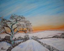 Winterlandschaft von Rudolf Urabl