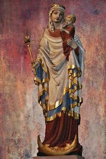 Madonna im Dom zu Speyer by Marie Luise Strohmenger