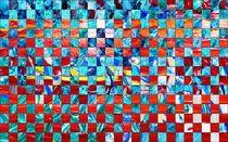 Schachnovelle in rot-blau von Martin Uda