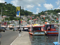 Grenada Harbour by Peter Robinson