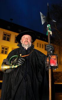 Nachtwächter Walter Rebmann in Waldenbuch von Matthias Hauser